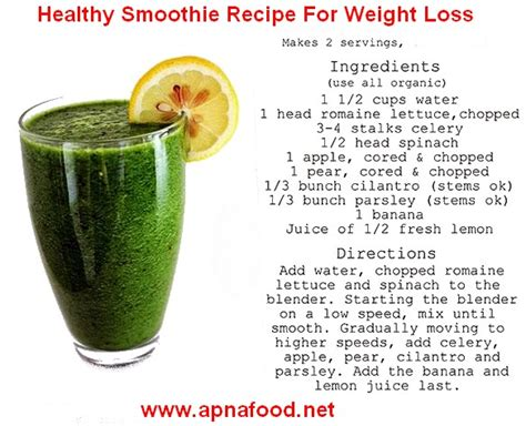 8 weight loss smoothies smoothie recipes for weight loss