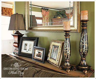 how to decorate a sofa table against a wall 17 best images about sofa table on