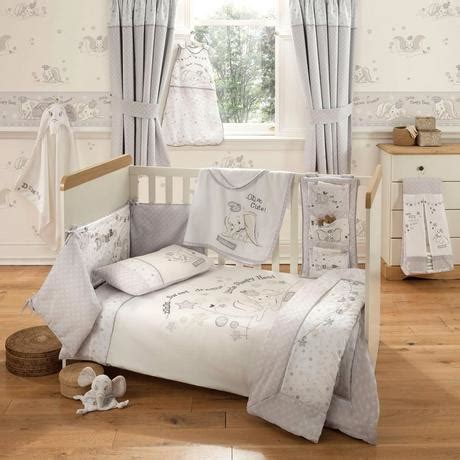 Nursery Curtains And Bedding Disney Dumbo Nursery Bed Linen Collection Dunelm