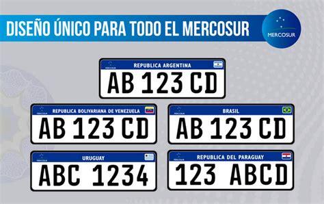 valores patentes de automoviles 2016 se reglament 243 la nueva patente 250 nica del mercosur