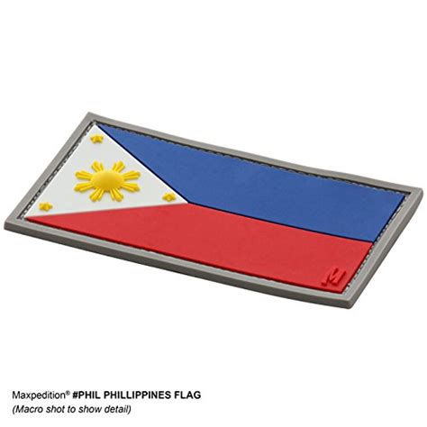 Patch Rubber Patch Sar Nasional Besar Tactical maxpedition philippines flag patch color buy in