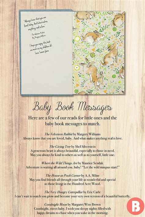 What To Write In A Baby Book For A Shower by What To Write In Book For Baby Shower Wedding