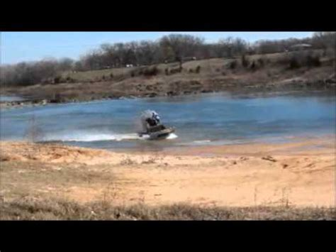 airboat pushes truck nirbuilt airboats doovi