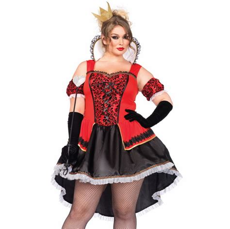 plus size bedroom costumes plus size royal costumes plus size sexy queen of hearts