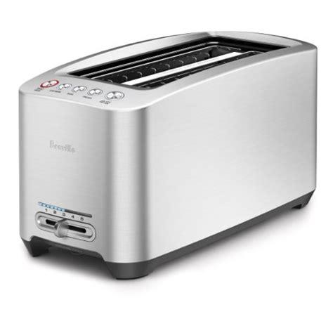 Best Cheap Toaster Breville Bta830xl Die Cast 4 Slice Slot Smart Toaster