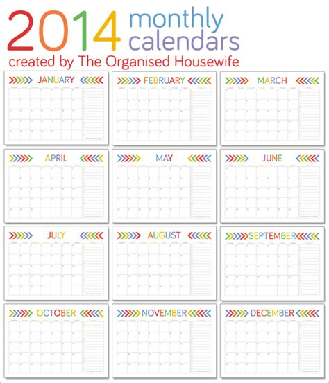 printable calendar quarterly 2014 monthly calendar 2014 new calendar template site