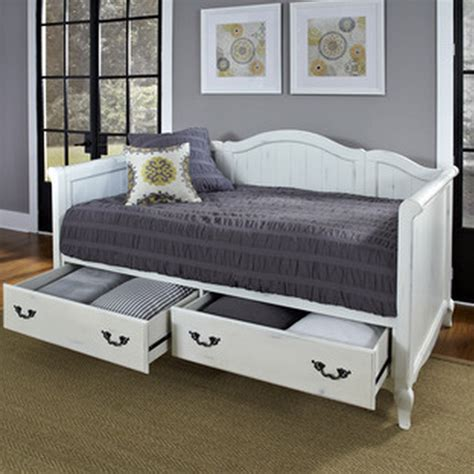 Daybed With Storage Drawers 7 White Daybeds With Storage Drawers Furniture