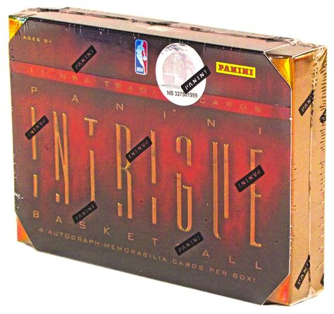 2012 13 panini intrigue basketball hobby box da card world