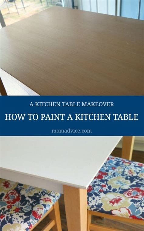 How To Paint Kitchen Table by How To Paint A Kitchen Table Our Kitchen Table Makeover