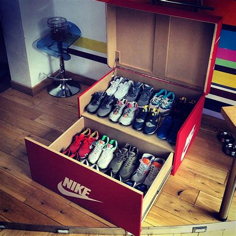 Nike Shoe Rack by Keegan Mcguinness Keeganmcguinne1