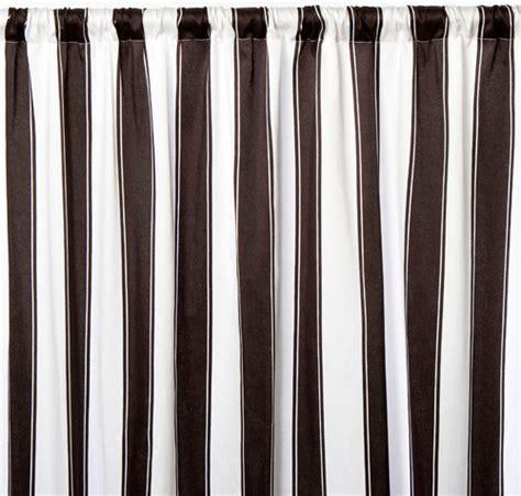 Black Outdoor Curtains Outdoor Curtains Black White Stripe And Photos Madlonsbigbear
