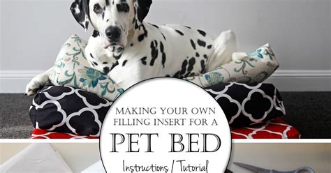 make your own dog bed dalmatian diy making your own simple dog bed insert cushions