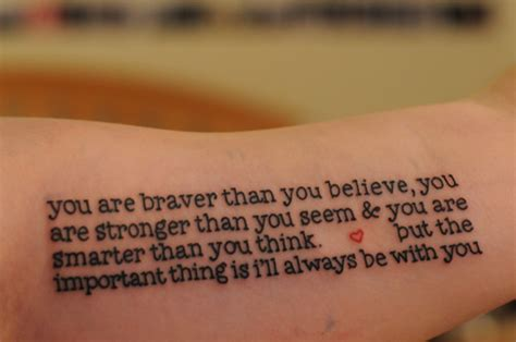 winnie the pooh quote tattoos quotes from the great quotesgram