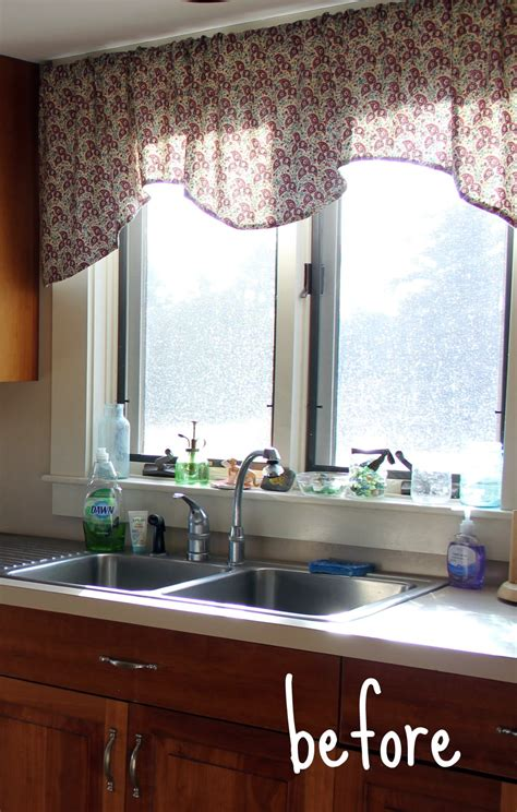 kitchen window valances ideas kitchen window curtain ideas tjihome