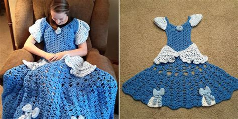 disney princess crochet blankets    cute