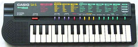 Keyboard Casio Sa 35 casio sa 35 sa 5