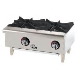 propane countertop stove max 602hwf 24 quot 2 burner countertop range gas
