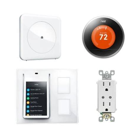 wink home automation home bundle hub relay
