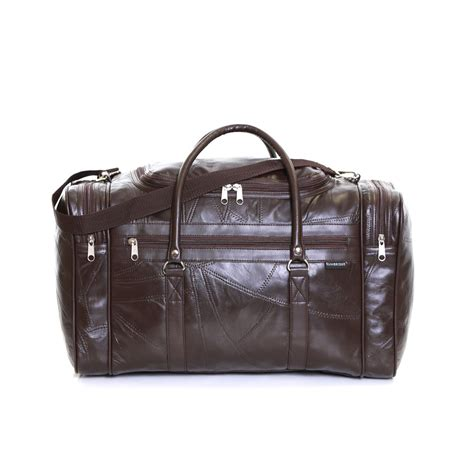 travel cabin bags real leather travel weekender cabin luggage handbag