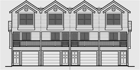 townhouse plans narrow lot narrow lot townhouse plans duplex house plans 3 level d 519