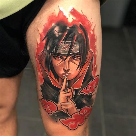 itachi tattoo adam rzychu itachi uchiha