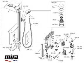 mira elevate shower spares and parts mira elevate