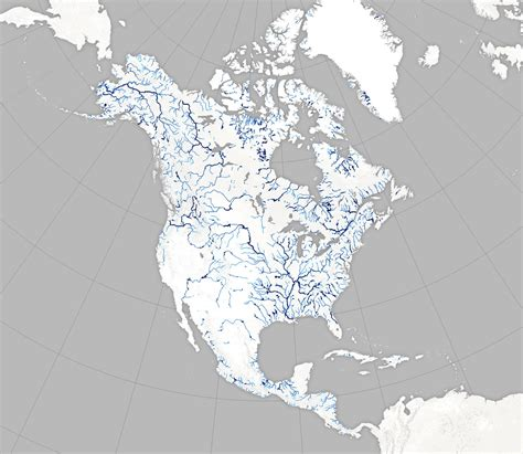river maps of usa new map plots america s bounty of rivers wired