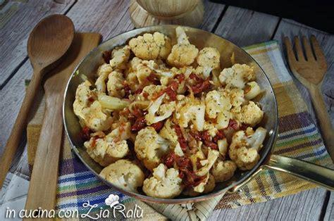 cucinare il cavolfiore in padella cavolfiore in padella saporito in cucina con zia ral 249