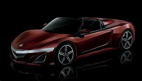 acura supercar avengers acura previews tony stark s nsx roadster from the avengers