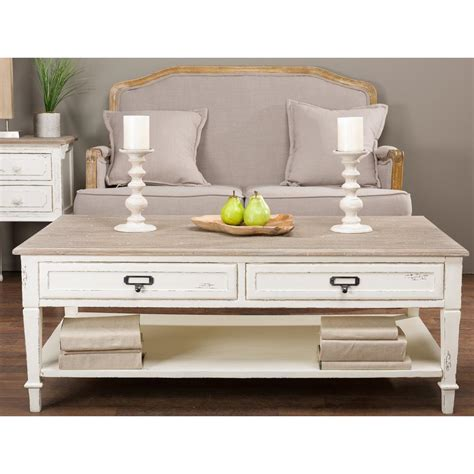 baxton studio dauphine coffee table baxton studio dauphine white and light brown coffee table