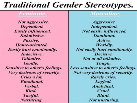 from the cradle to the grave gender stereotyping in