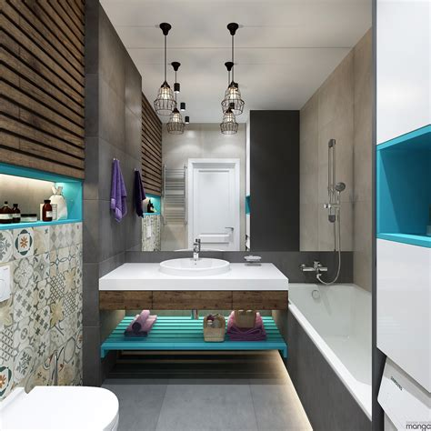 Modern Small Bathroom Designs Combined With Variety Of