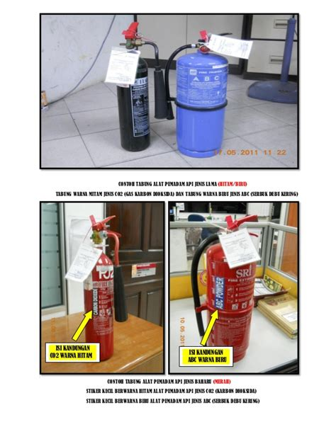 Alat Pemadam Api Karbon Dioksida keselamatan bangunan 2