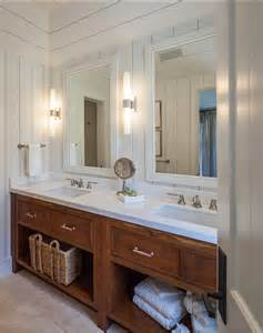 vanity coastal bathroom