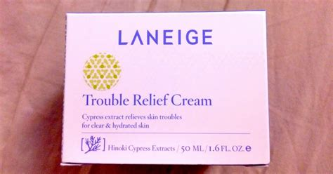 Harga Laneige Trouble Relief Series review laniege trouble relief skinformulae your