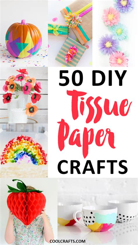 Cool Tissue Paper Crafts - tissue paper crafts 50 diy ideas you can make with the