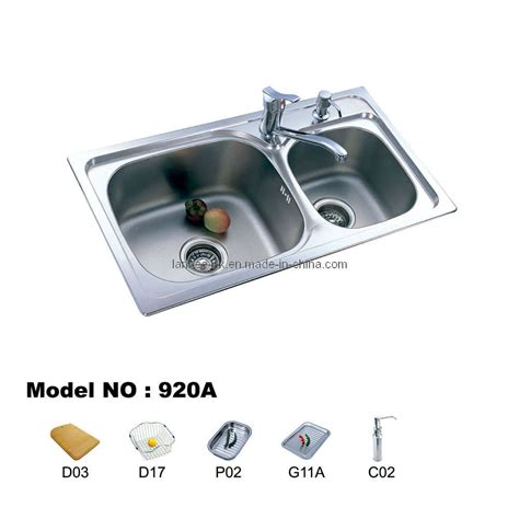 double bowl kitchen sink china double bowl kitchen sinks 920 china sink