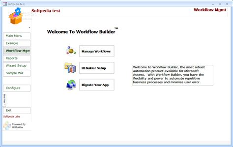workflow builder workflow builder for access 2 1 incl keygen