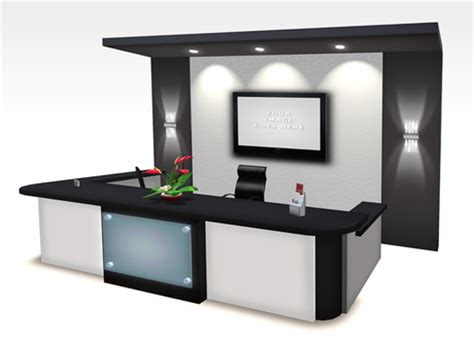Modern Office Furniture Reception Desk Second Office Desks
