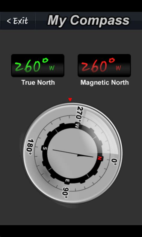 free compass app for android my compass free android app android freeware