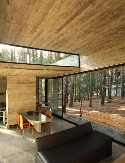 wood interior homes arquimaster com ar proyecto casa cher mar azul pcia