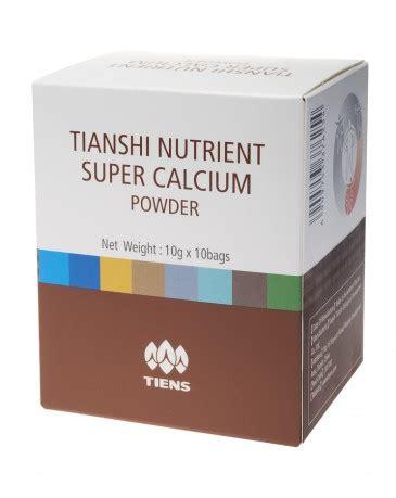 Nutrient Calcium Powder Tiens 1 wapń og 243 lny z witaminami nutrient calcium powder cena z kartą tiens 97 zł