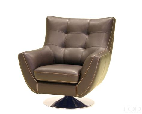 contemporary swivel armchair chocolate leather contemporary swivel chair from htl