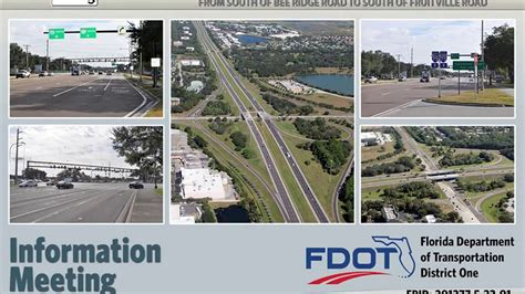 at t fruitville road sarasota interstate 75 from south of bee ridge road to south of