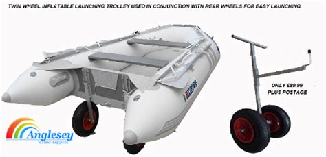 inflatable boat launch trolley boat dinghy launching trolleys boat launching wheels