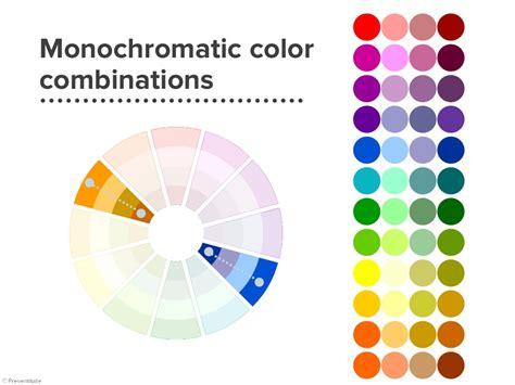 monochromatic colors exle