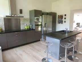 cuisine gris clair cuisine grise la cuisine couleur pour