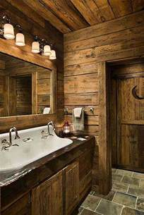 Log Cabin Bathroom Ideas by Rustic Bathrooms The Owner Builder Network