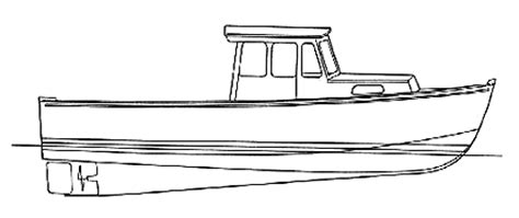how to draw a traditional boat lobster boat drawing google search images pinterest