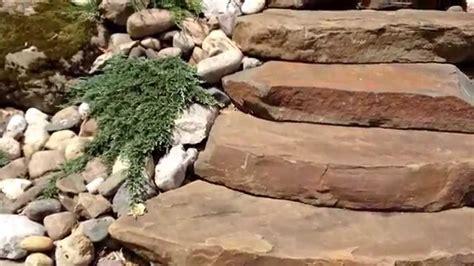 landscape networker natural stone steps  masonry